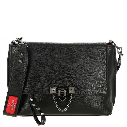 Женская кожаная сумка 1916 BLACK
