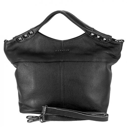 Женская кожаная сумка 2017-90 BLACK