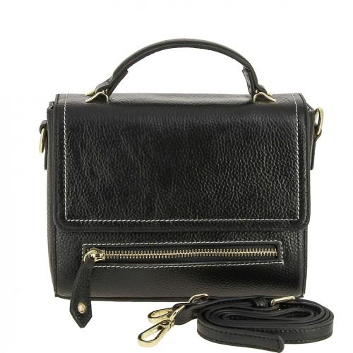 РАСПРОДАЖА!!!       Женская кожаная сумка 2293 BLACK