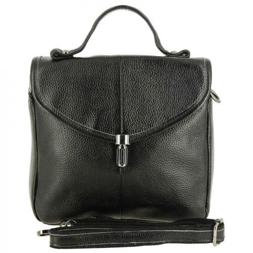РАСПРОДАЖА!!!       Женская кожаная сумка 723 BLACK