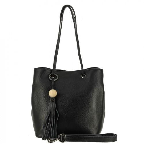 НАТУРАЛЬНАЯ   КОЖА        Женская кожаная сумка 795 BLACK