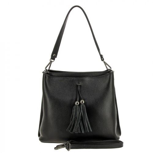 РАСПРОДАЖА!!!       НАТУРАЛЬНАЯ   КОЖА        Женская кожаная сумка 8035 BLACK