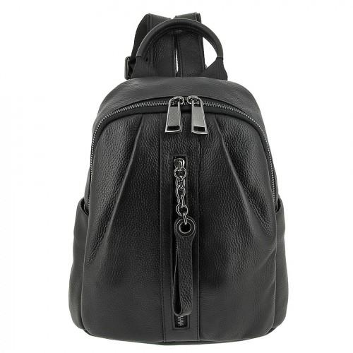 Женский кожаный рюкзак 8135 BLACK