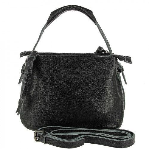 РАСПРОДАЖА!!!       НАТУРАЛЬНАЯ   КОЖА        Женская кожаная сумка 832 BLACK