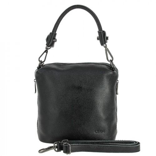 РАСПРОДАЖА!!!       НАТУРАЛЬНАЯ   КОЖА        Женская кожаная сумка 9936-1 BLACK