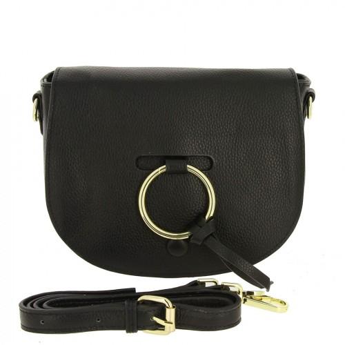 РАСПРОДАЖА!!!       Женская кожаная сумка A8827 BLACK