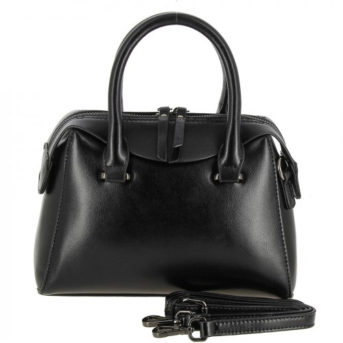 РАСПРОДАЖА!!!       Женская кожаная сумка M801 BLACK